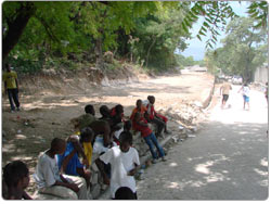 terrain centre medical haiti