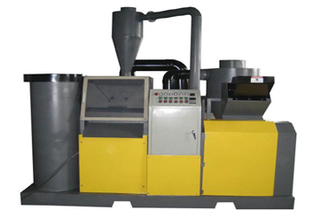 Machine à recycler le cuivre et le plastique