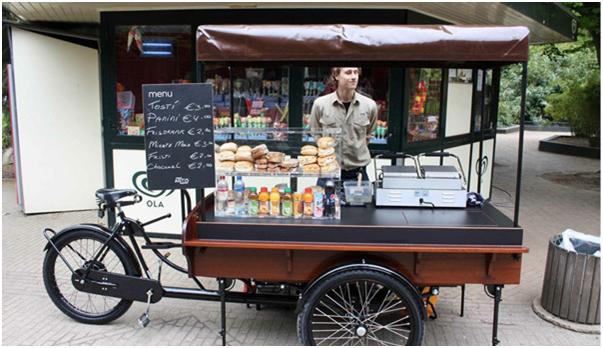 Nouvelle génération de vélo cargo