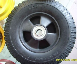 PU foaming wheels 01