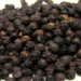 Well treated dry black pepper producer search