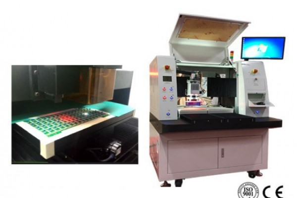 Inline Laser PCB Depaneling Equipment with UV