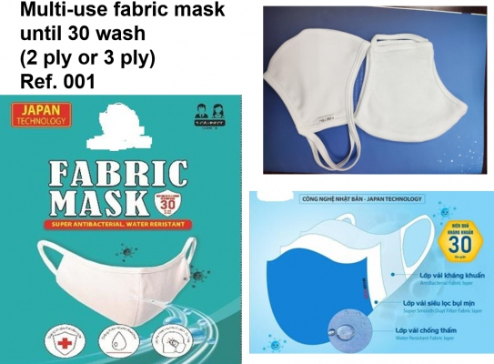 Multi-use Masks