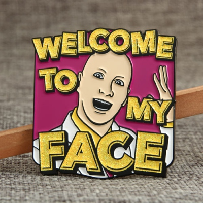 Welcome Custom Pins Pas de commande minimum