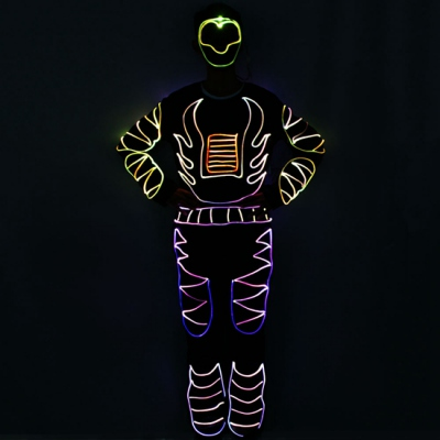 New optical fiber suit for stage performance