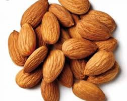 California shelled almonds
