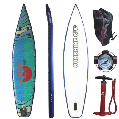"Vente en gros 10 'x 30 ""x6"" gonflable Stand UP Paddle Board Racing Board"
