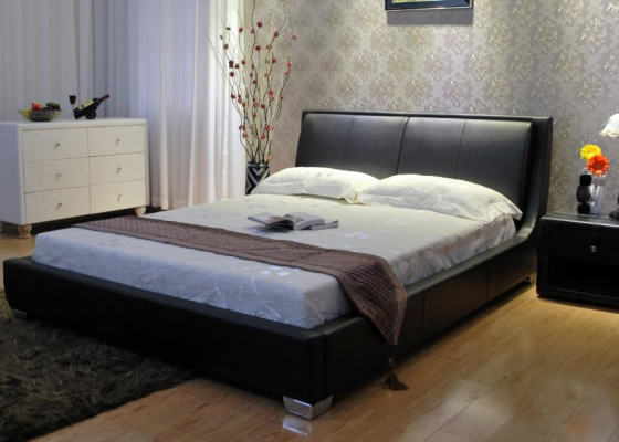 Fully Upholstered Double Bed