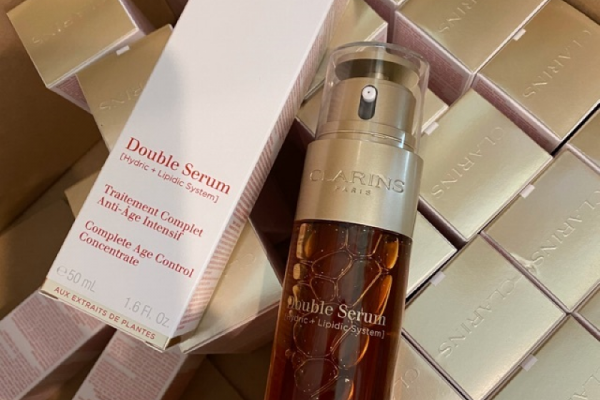 Clarins Double Sérum Soin Complet Anti-Âge Intensif 50ML
